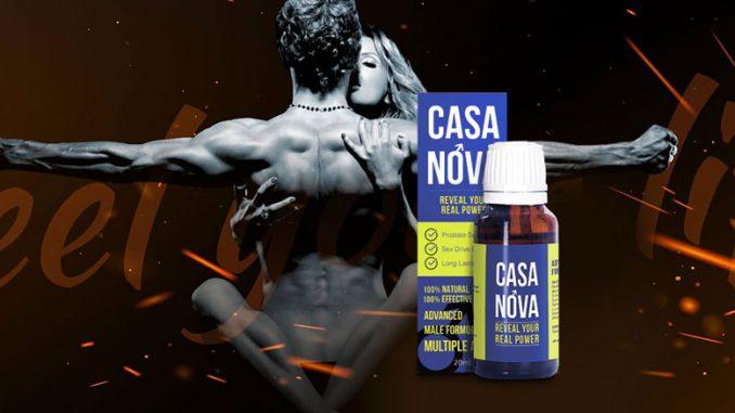 Casanova - za potenciju - Amazon - instrukcije - tablete