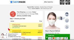 Coronavirus safemask - ljekarna - sastav - sastojci